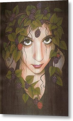 Gothberry Metal Print by Yuri Leitch