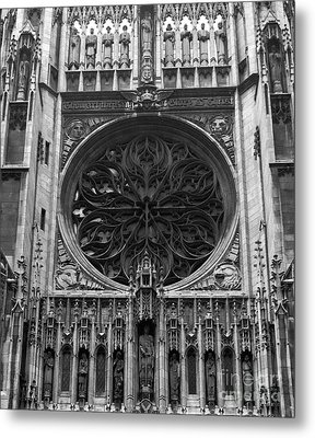 Metal Print featuring the photograph Gothic by Brian Jones