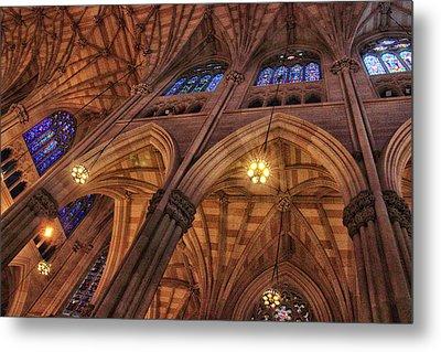 Gothic Ceiling Metal Print
