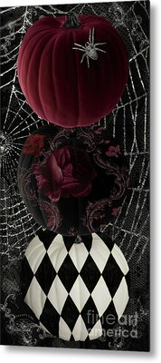 Gothic Halloween Metal Print by Mindy Sommers