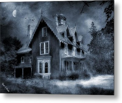 Gothic Revival Metal Print by Fran J Scott