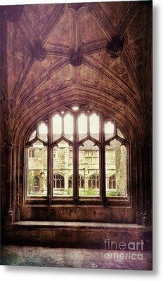 Metal Print featuring the photograph Gothic Window by Jill Battaglia