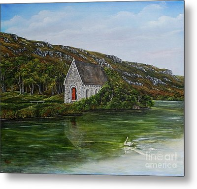 Gougane Barra Cork Ireland Metal Print