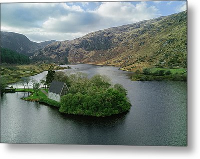 Gougane Barra From Above Metal Print