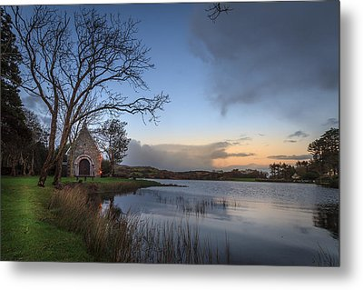 Gougane Barra Sunset Metal Print