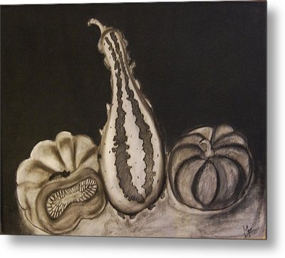 Gourds Metal Print by Michele Flannery