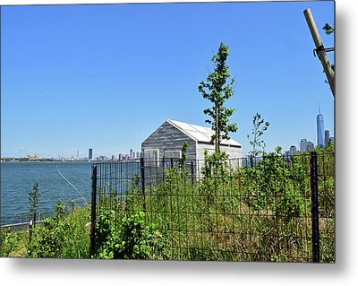 Governors Island Metal Print by Sandy Taylor