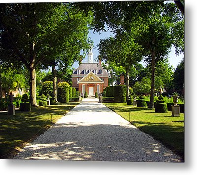 Governors Palace II Metal Print by Mark Currier