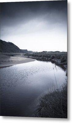 Gower Coast Metal Print