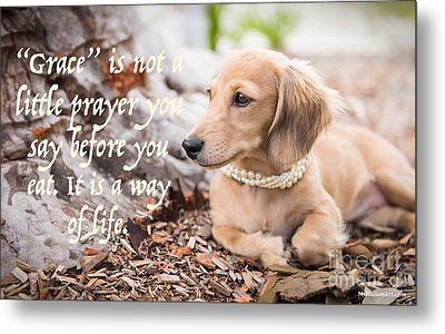 Grace- A Way Of Life Metal Print