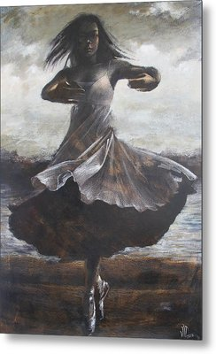 Grace And Movement Metal Print by Vali Irina Ciobanu