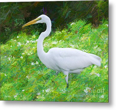 Grace In Nature Metal Print by Judy Kay