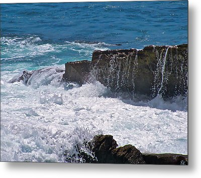 Grace Of The Waves Metal Print