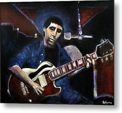 Metal Print featuring the painting Graceland Tribute To Paul Simon by Seth Weaver