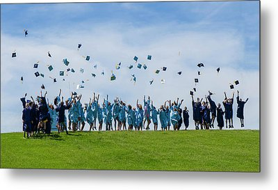 Metal Print featuring the photograph Graduation Day by Alan Toepfer
