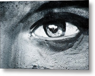 Metal Print featuring the painting Graffiti Eye by Yurix Sardinelly