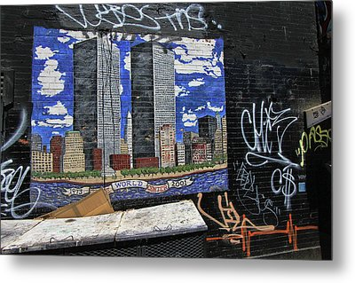 Grafitti Art 8 Metal Print by Allen Beatty