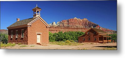 Grafton Ghost Town - Color Metal Print by William Gillam