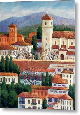 Granada View Metal Print by Candy Mayer
