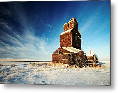 Granary Chill Metal Print