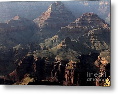 Metal Print featuring the photograph Grand Canyon 1 by Erica Hanel