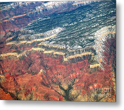 Grand Canyon 3 Metal Print by Addie Hocynec