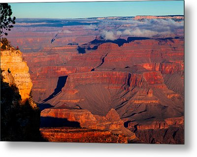 Metal Print featuring the photograph Grand Canyon 32 by Donna Corless