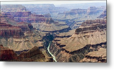 Grand Canyon And Colorado River 3 Of 5 Metal Print