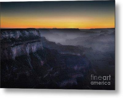 Grand Canyon At Twilight Metal Print by RicardMN Photography