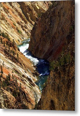 Grand Canyon Of The Yellowstone 1 Metal Print by Marty Koch