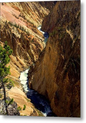 Grand Canyon Of The Yellowstone 2 Metal Print by Marty Koch