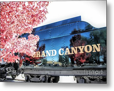 Grand Canyon Railroad Metal Print