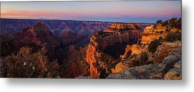Grand Canyon Sunrise Panoramic Metal Print by Scott McGuire