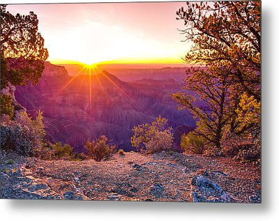 Grand Canyon Sunrise Metal Print by Scott McGuire