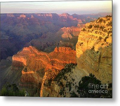 Grand Canyon Sunset Metal Print by Jon Q Wright