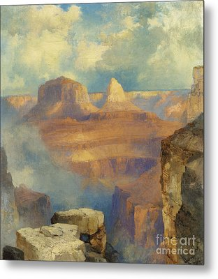 Grand Canyon Metal Print by Thomas Moran