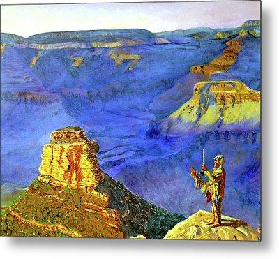 Grand Canyon V Metal Print