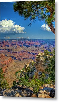 Grand Canyon Vista Metal Print