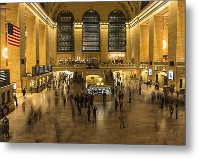 Grand Central Station Metal Print by Martin Newman