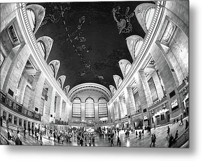 Metal Print featuring the photograph Grand Central Station by Mitch Cat