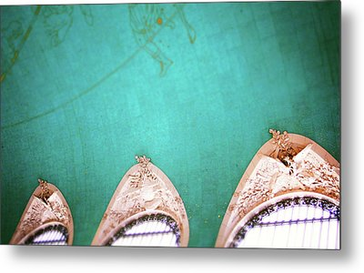 Grand Central Windows- By Linda Woods Metal Print