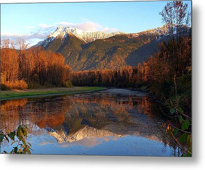 Mount Cheam, British Columbia Metal Print by Heather Vopni