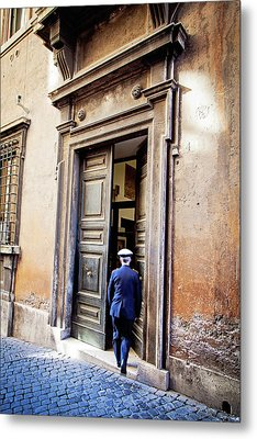Grand Entrance - Rome, Italy Metal Print