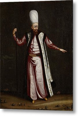 Grand Master Of The Seraglio Metal Print by Eastern Accent