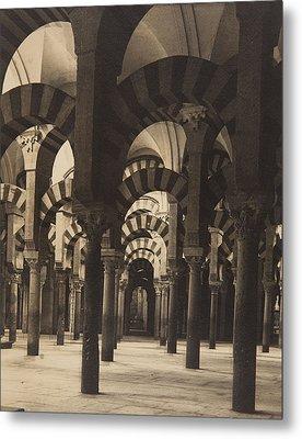 Grand Mosque Cordoba Metal Print by Claudi Carbonell