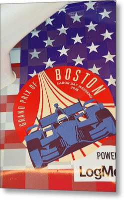 Grand Prix Of Boston Metal Print by Mike Martin