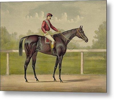 Grand Racer Kingston - Vintage Horse Racing Metal Print