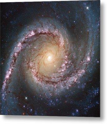 Grand Swirls From Nasa's Hubble Metal Print by Nasa