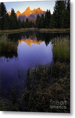 Grand Teton Morning Metal Print by Craig J Satterlee