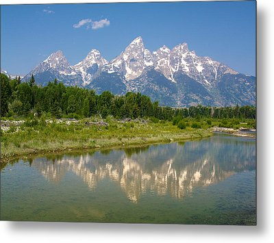 Grand Teton View Metal Print